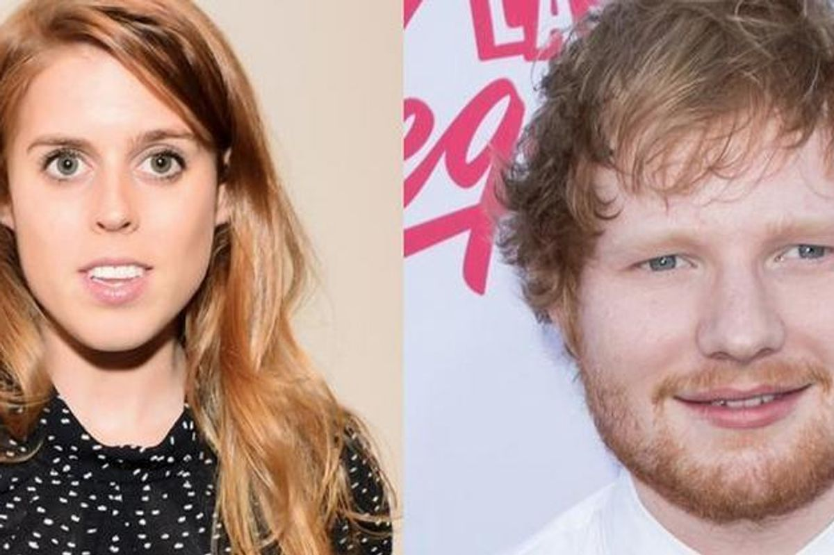 Ed Sheeran Gets Hush-Hush About Sword Scar From Princess Beatrice