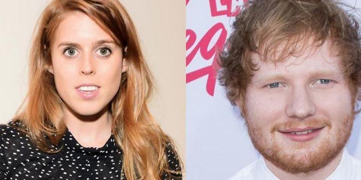 Ed Sheeran Gets Hush-Hush About Sword Scar From Princess Beatrice