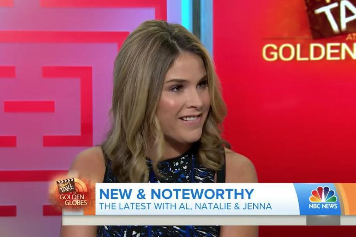 Jenna Bush Hager Apologized For Cringeworthy Golden Globes Moment [UPDATE]