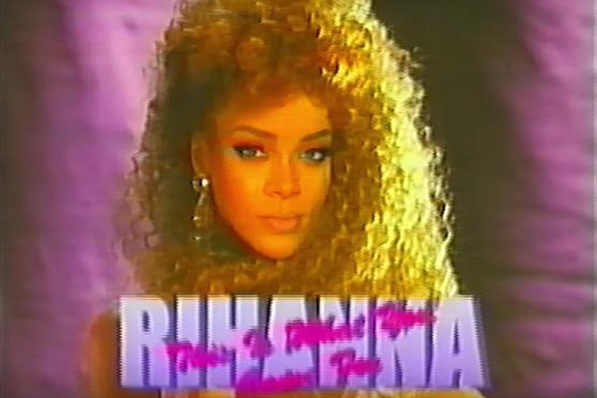 "This '80s Power Ballad Rework Of Rihanna's ""This Is What You Came For"" Is Life Itself"