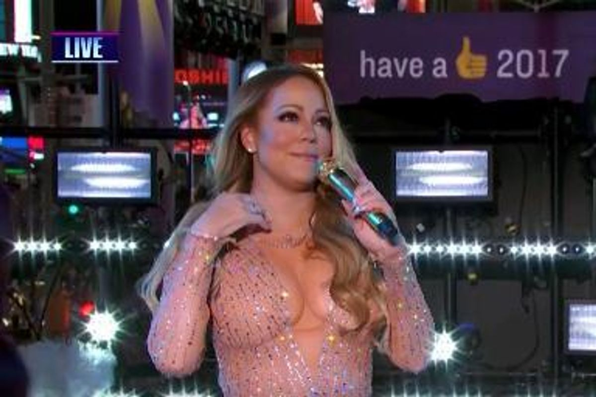 Mariah Carey Has Announced A Break From The Public Eye Following New Year's Eve