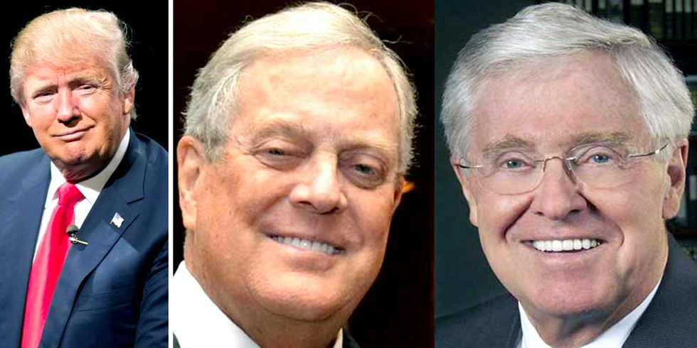 Koch Brothers Take Root in Trump Administration