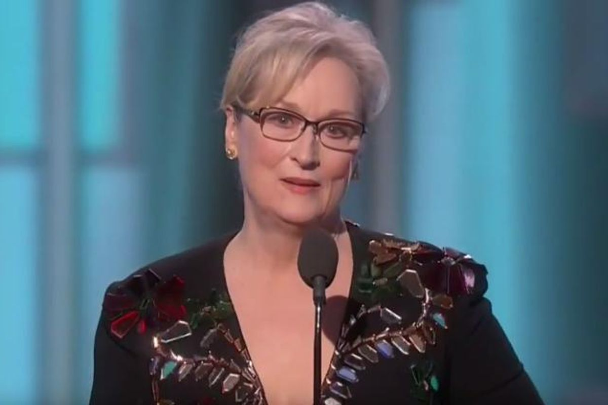 Trump Responds To Meryl Streep's Spectacular, Chilling, Anti-Trump Golden Globes Speech [UPDATE]