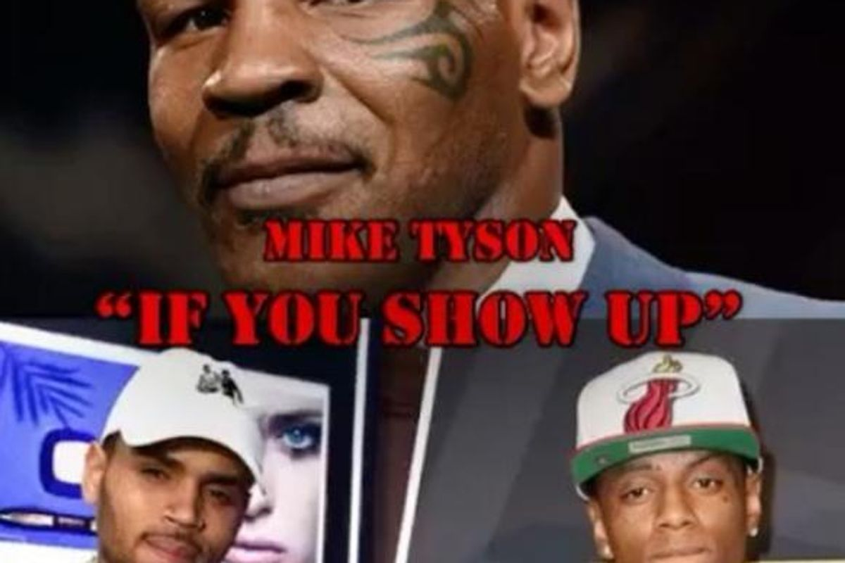 Listen To A Snippet Of Mike Tyson's New Soulja Boy Diss Track