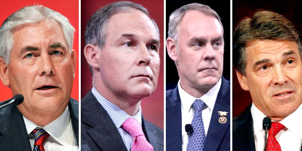Take Action: Say No to Oil Insiders and Climate Deniers for Trump's Cabinet