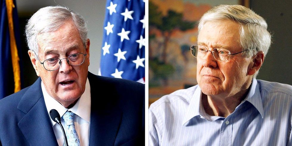 One-Third of the Trump Team Has Ties to the Koch Brothers