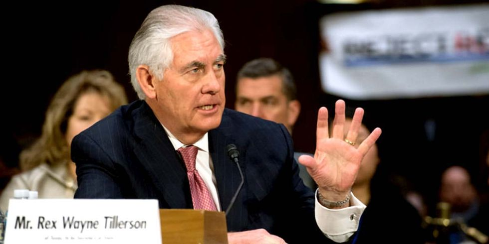 Tillerson Called Out for 'Lying About Climate' During Confirmation Hearing