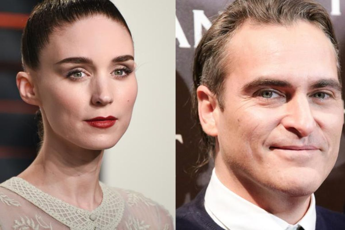 Rooney Mara and Joaquin Phoenix Are Reportedly Finding Love A Desert Colonics Spa