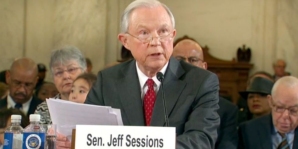 Fossil Fuels Make Guest Appearance at Sessions Hearing