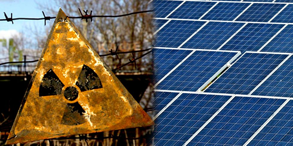 Giant Solar Farm to Rise From Chernobyl's Nuclear Ashes