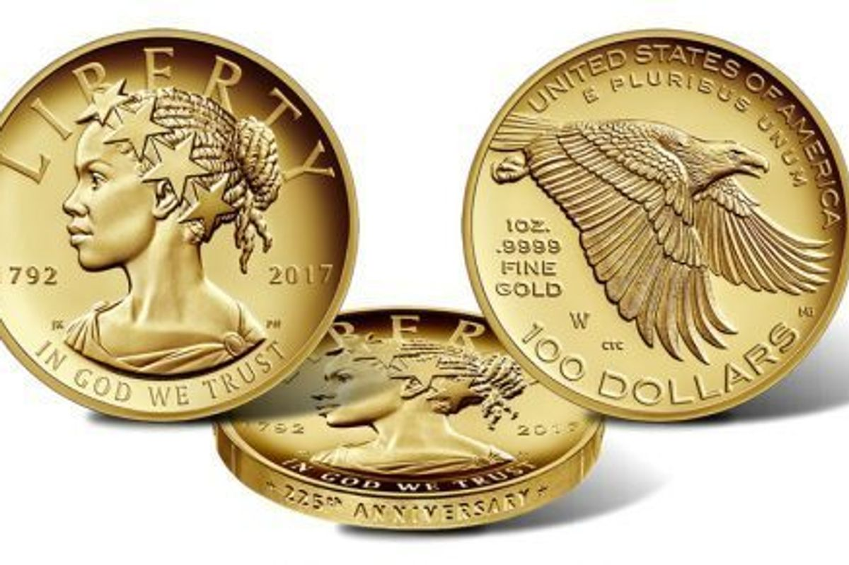 U.S. Mint Introduces New Coin With A Black Lady Liberty