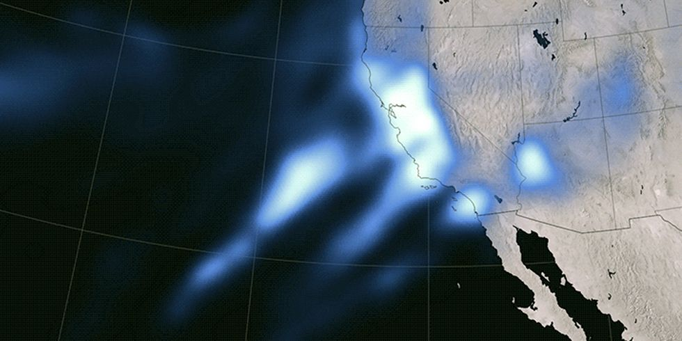 San Francisco Receives More Rain in First Eight Days of January Than All of 2013