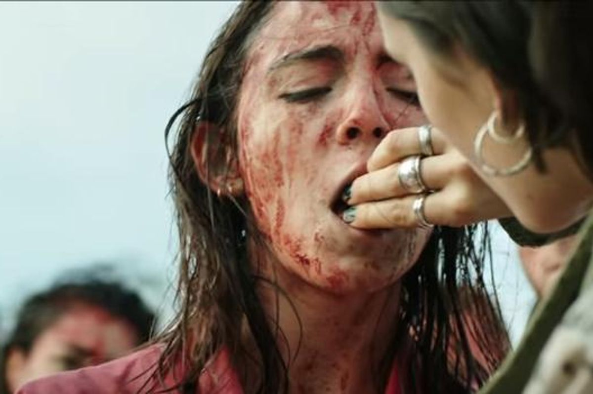 Watch The Gruesome, Incredible Trailer For Buzzy French Horror Movie 'RAW'
