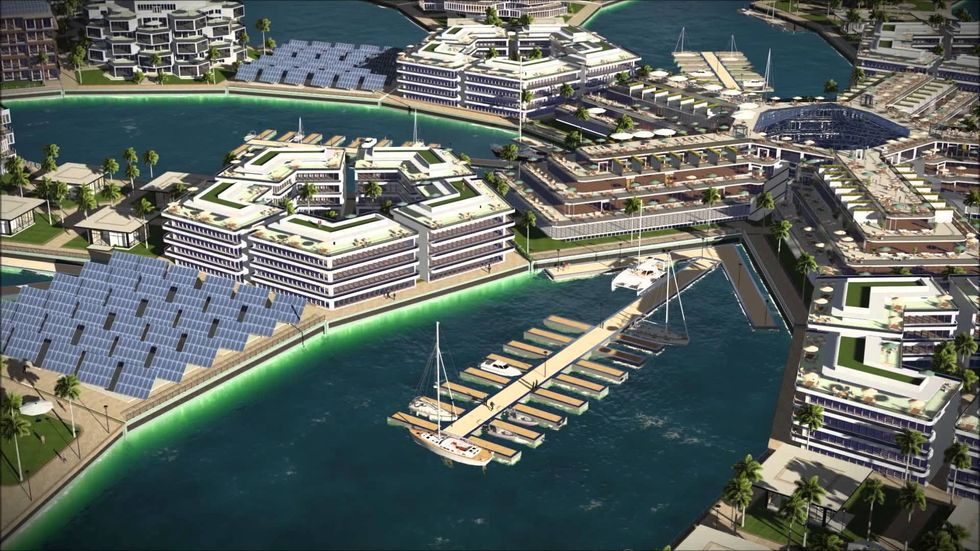 World's First Floating City to Combat Rising Sea Levels