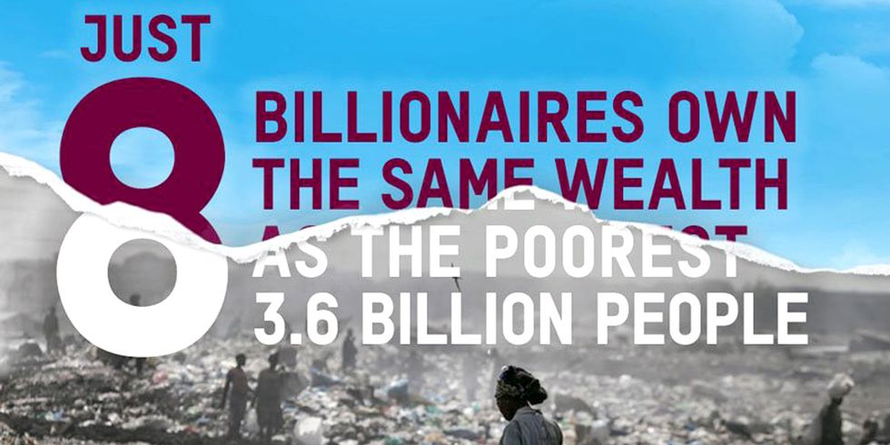 8 Men Account for Half the World's Wealth
