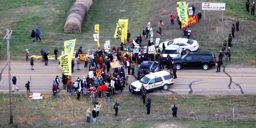 North Dakota Bill Would Protect Motorists Who 'Unintentionally Cause Injury or Death' to Protesters