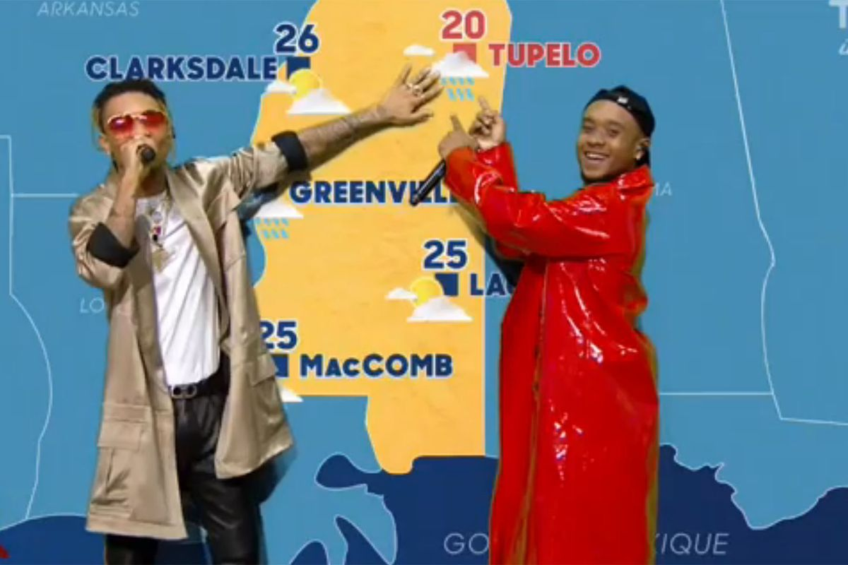 """Watch Rae Sremmurd Report the Weather, Sing """"Black Beatles"""" On French TV Show"""