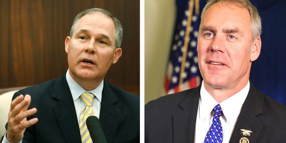 Pruitt and Zinke Confirmation Hearings Kick Off Busy Week on Capitol Hill