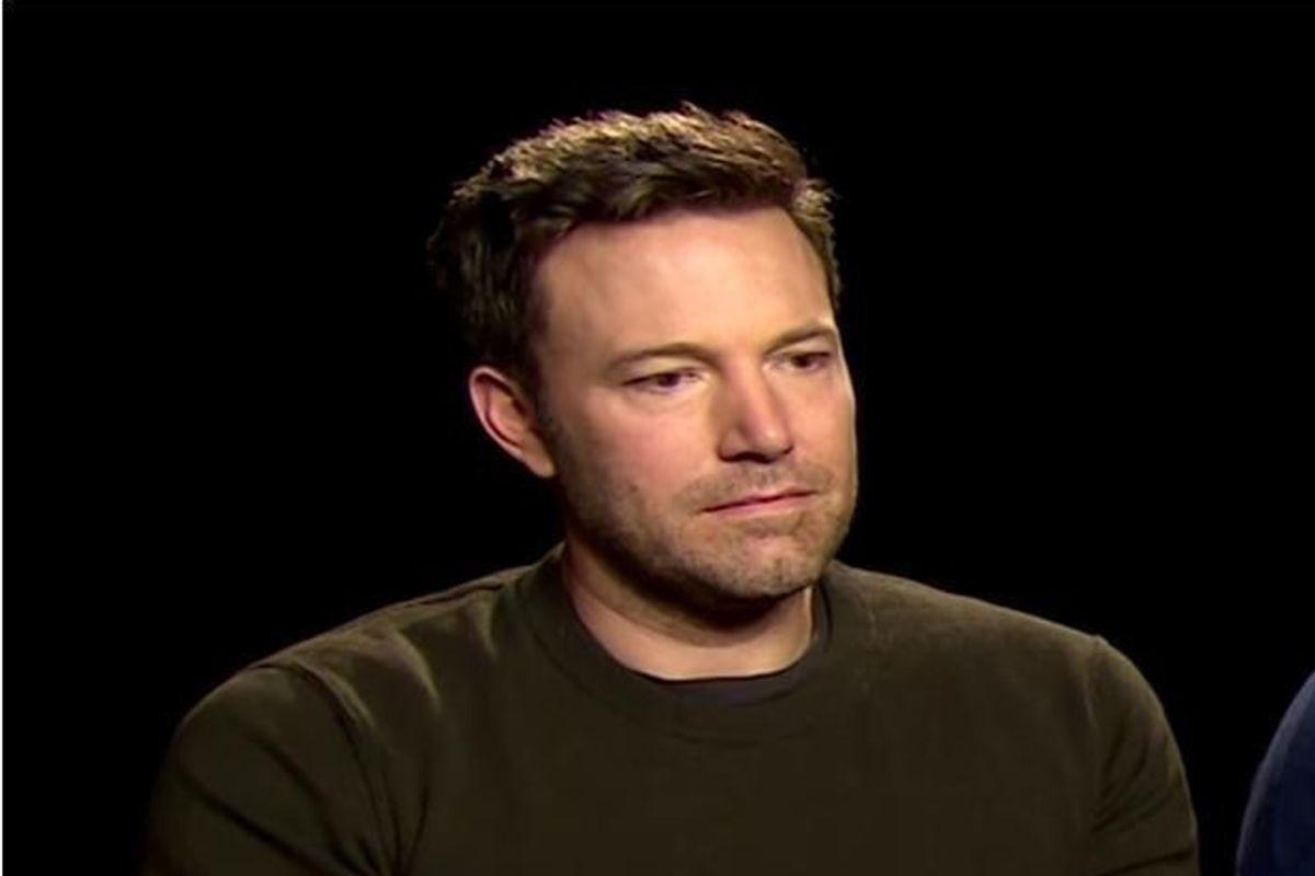 "Ben Affleck Addresses ""Sad Affleck"" Meme"