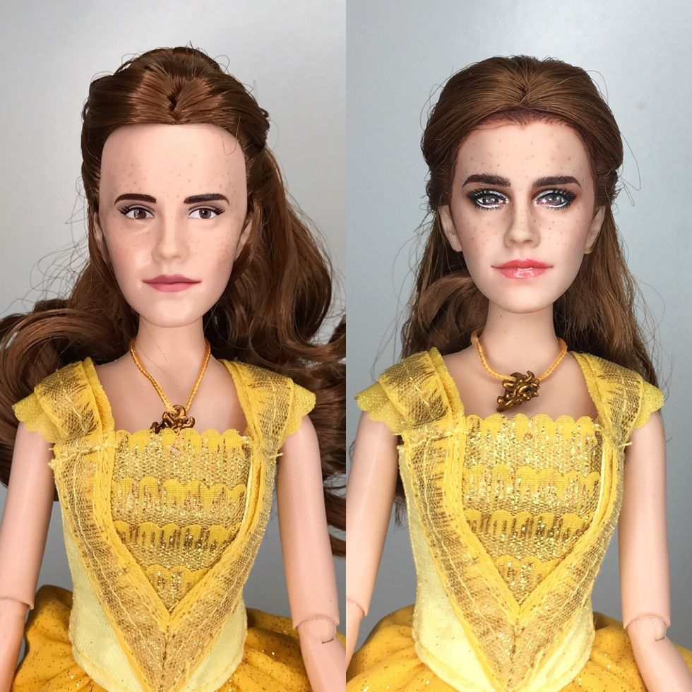 Artist Mark Jonathan Gave That Emma Watson Doll A Major Makeover Paper