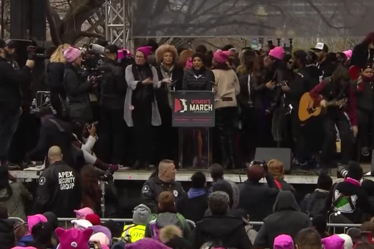 From Speaking to Marching, Celebrities Turned Out for the Women's March on Washington