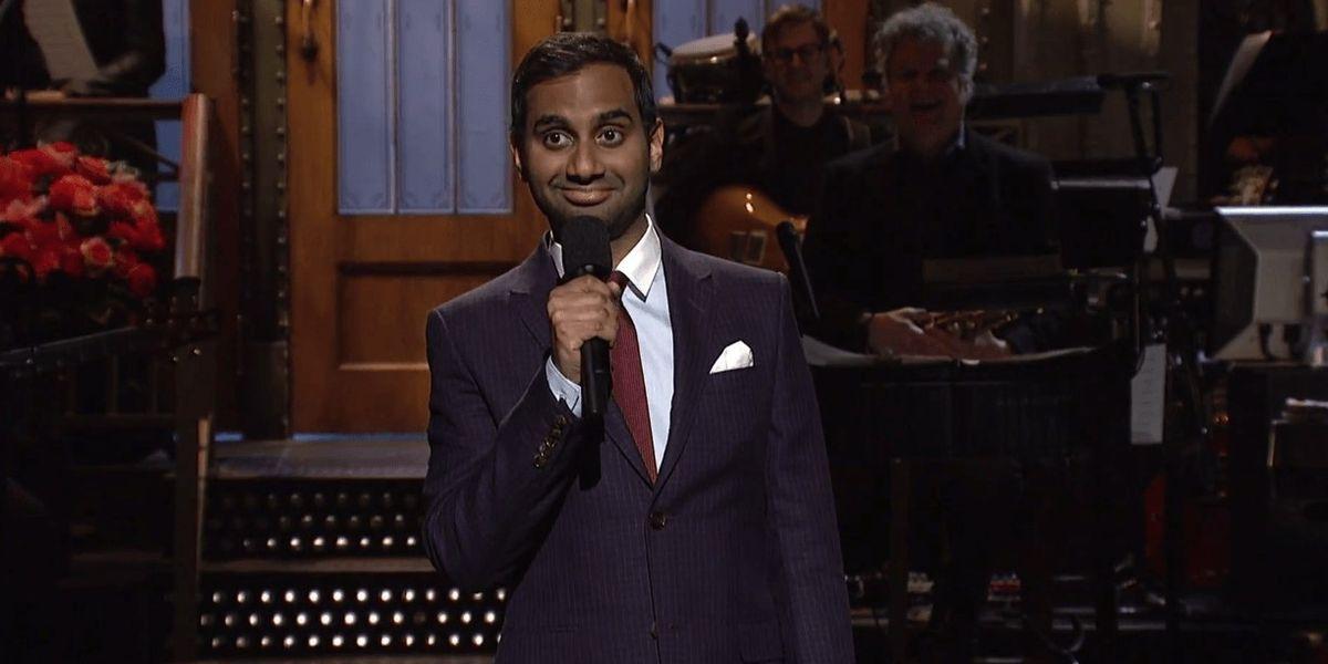 """UPDATE: Chris Brown Calls Aziz Ansari """"Aladdin"""" Following His SNL Monologue"""