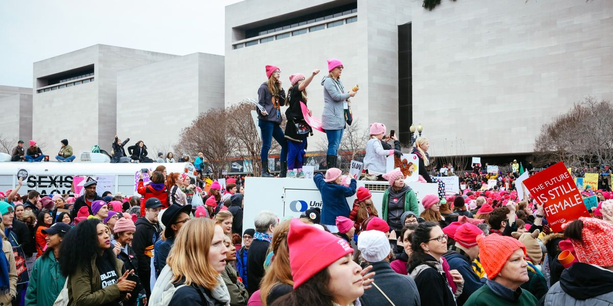 Scenes from Yesterday's Women's March on Washington, Part 1