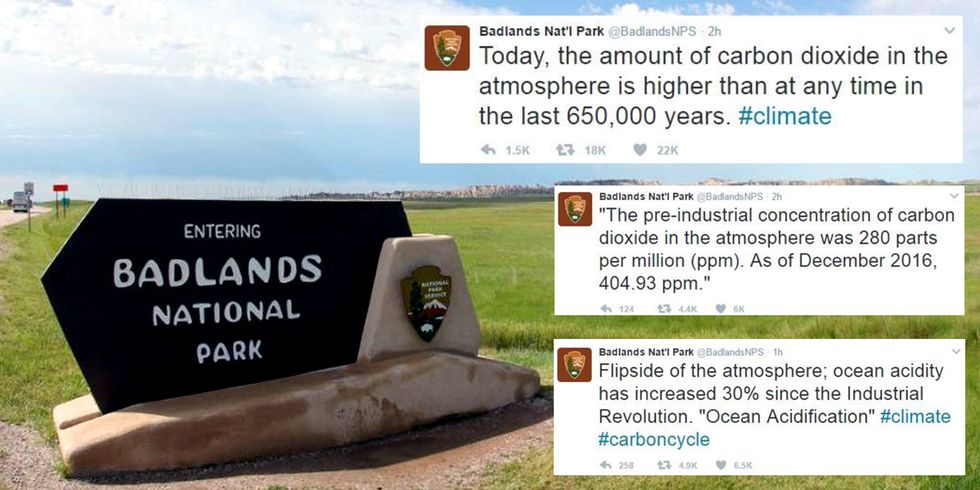 Government Agencies Defy Trump by Tweeting Climate Facts