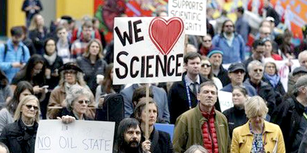 Trump's War on Science Sparks Massive Resistance