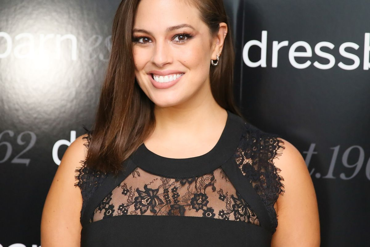 Ashley Graham's Body Positivity Extends Even to Cellulite