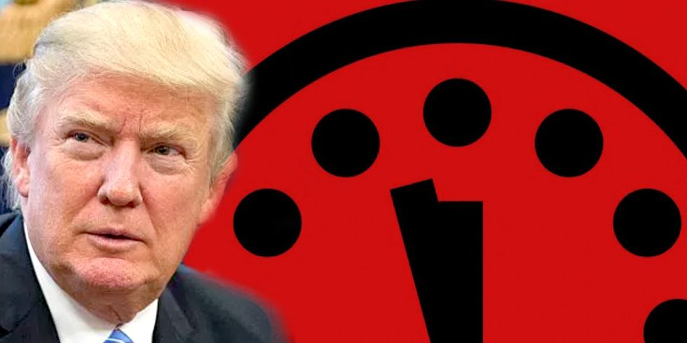 Doomsday Clock Now Two and a Half Minutes to Midnight, Thanks to Trump