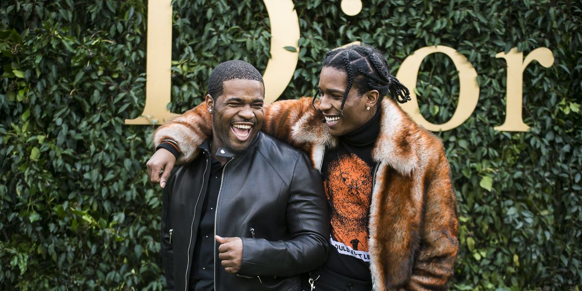 The A$AP Mob Stuns in Dior Homme