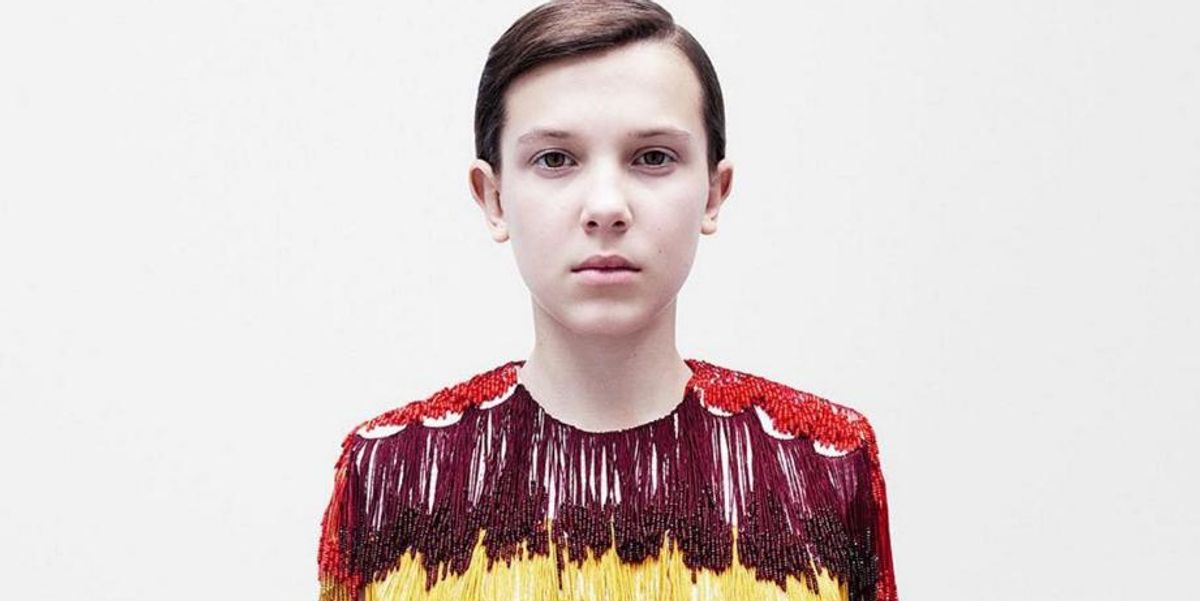 Millie Bobby Brown is the New Face of Calvin Klein