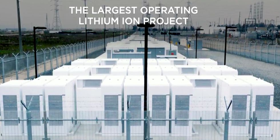 Tesla Unveils World's Largest Battery Storage Plant to Reduce Reliance on Fossil Fuels