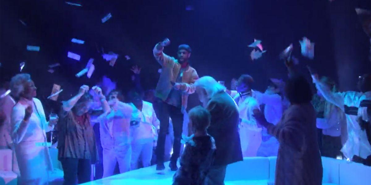 Watch Big Sean Make it Rain on Elderly Groupies While Performing 'Moves' on Ellen
