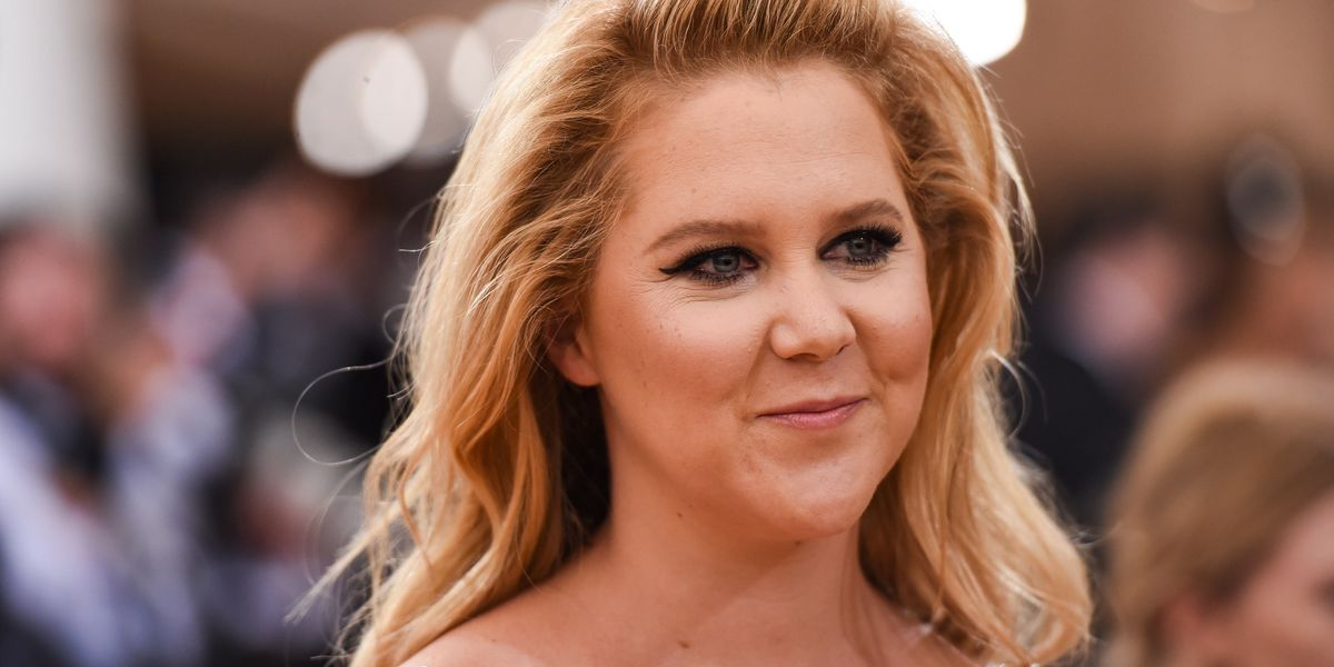 """Amy Schumer Defends Cousin Chuck Schumer After Trump's """"Fake Tears"""" Cheap Shot"""
