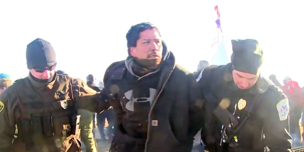 76 Arrested at Standing Rock as Trump Tries to Move DAPL Forward