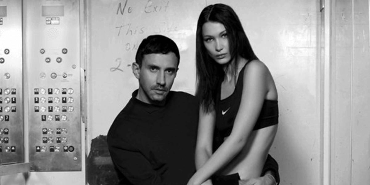 Riccardo Tisci is Back Designing for Nike with Bella Hadid on Board