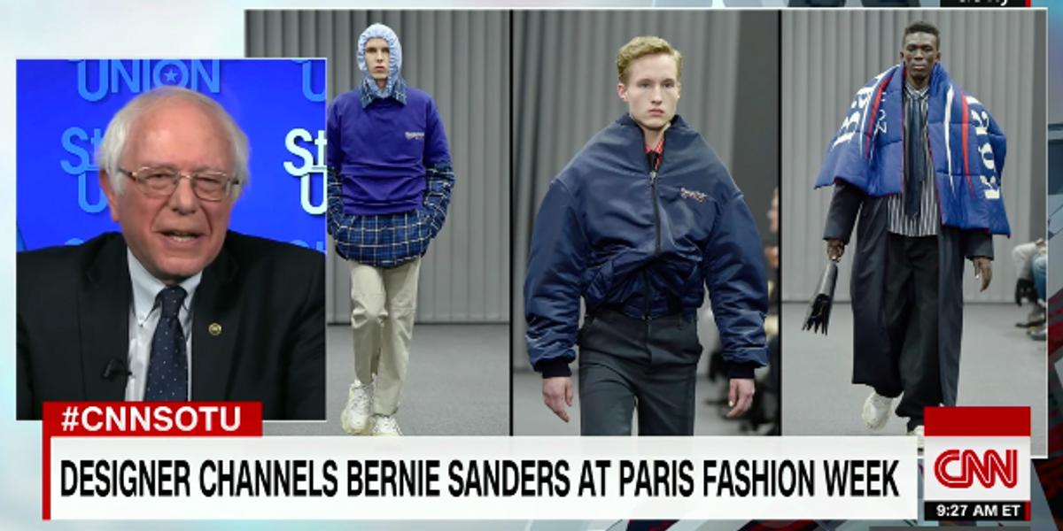 Bernie Sanders Responds To His Balenciaga Tribute
