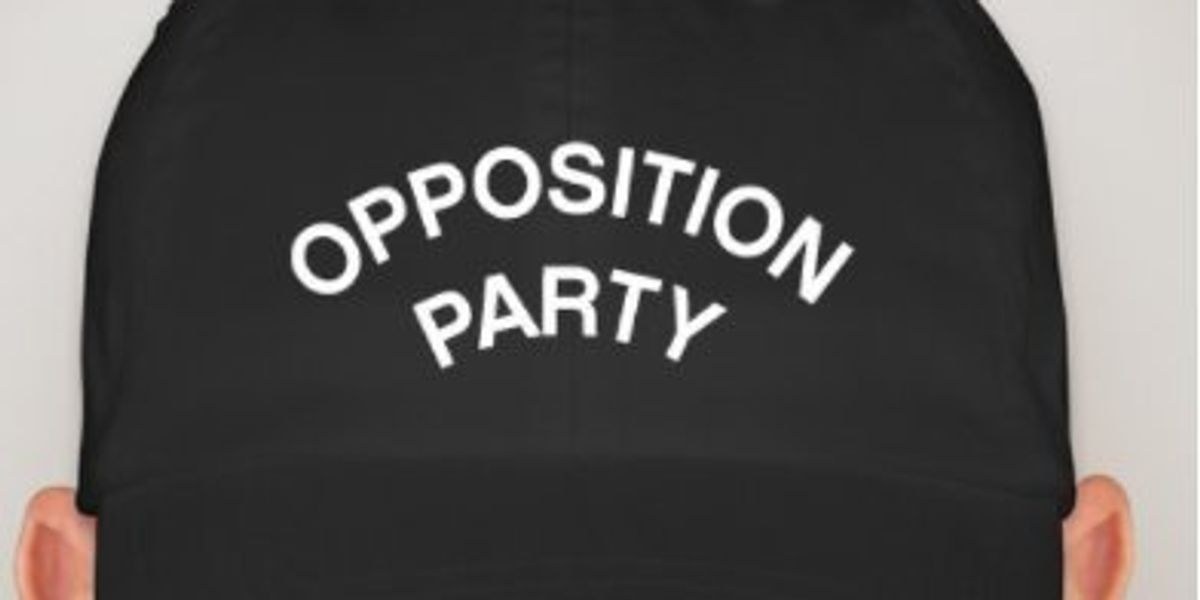 """Do You Like The Free Press? Looks Like You Need AdHoc's New """"Opposition Party"""" Hat."""