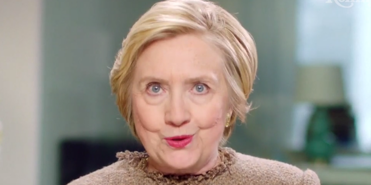 Right When We Needed Her Most, Hillary Clinton Has Given Her First Speech Post-Inauguration