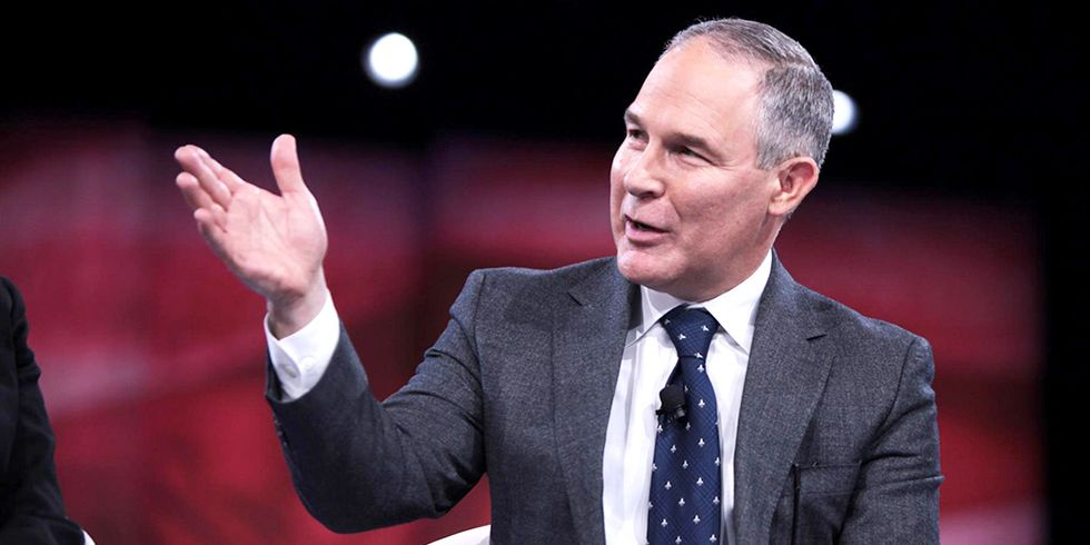 Trump's EPA Pick Sued for Denying Public Access to Emails