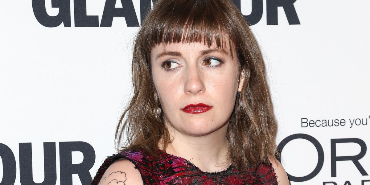 """Lena Dunham Says Her Weight Loss Is From The """"Soul-Crushing Pain and Devastation"""" of Trump's Presidency"""