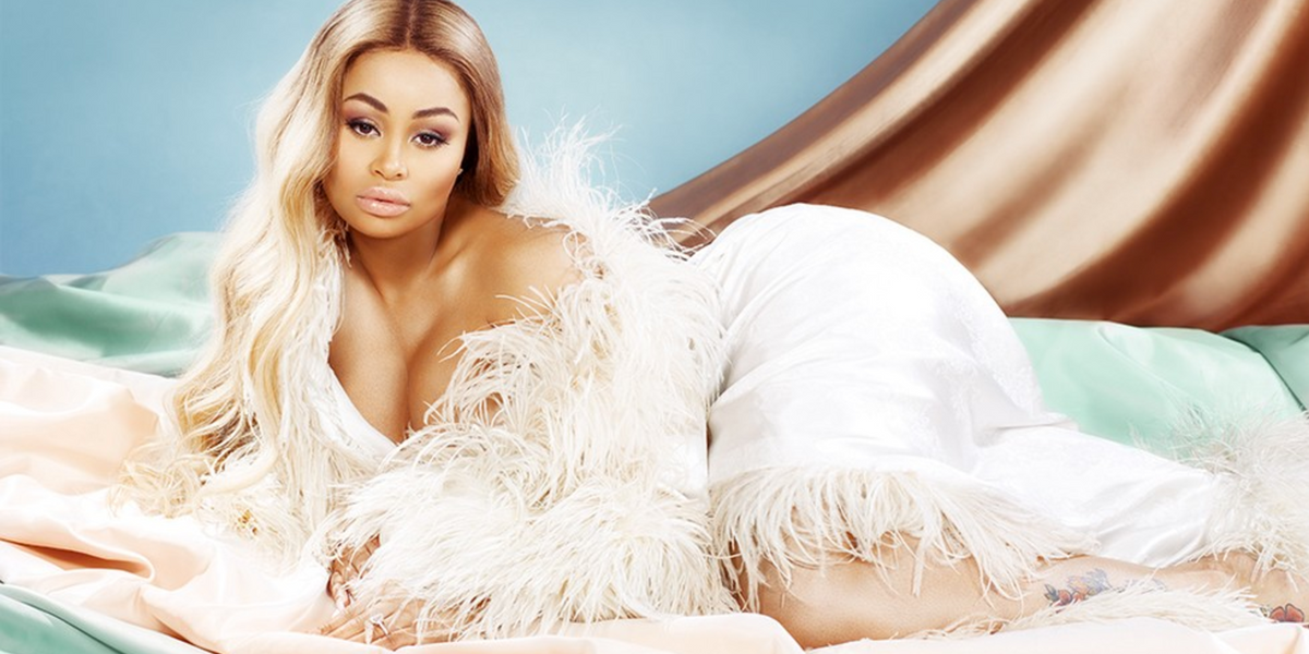 Blac Chyna Got Naked for Black History Month