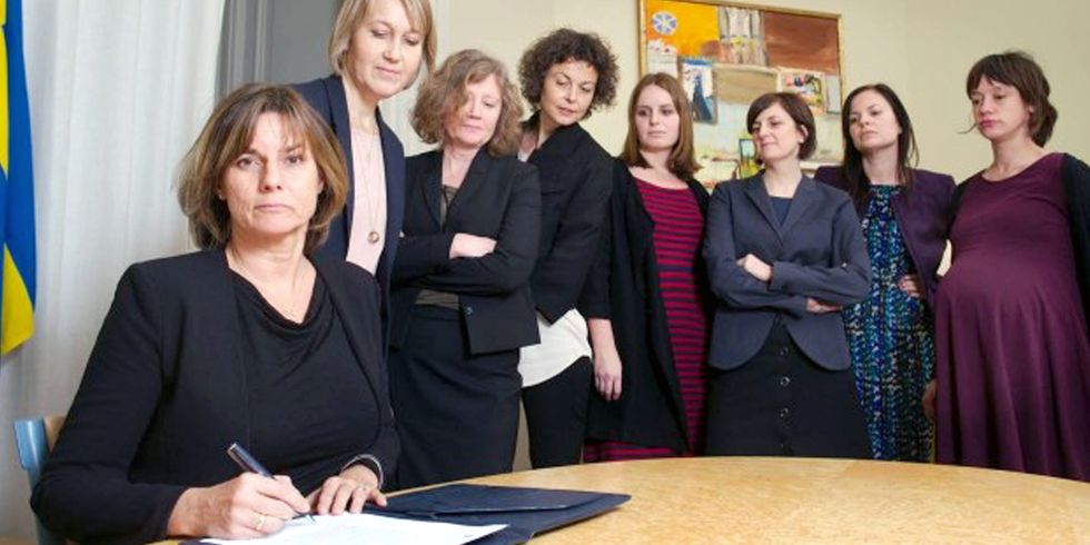 Swedish Government Belittles Trump With This All-Woman Photo