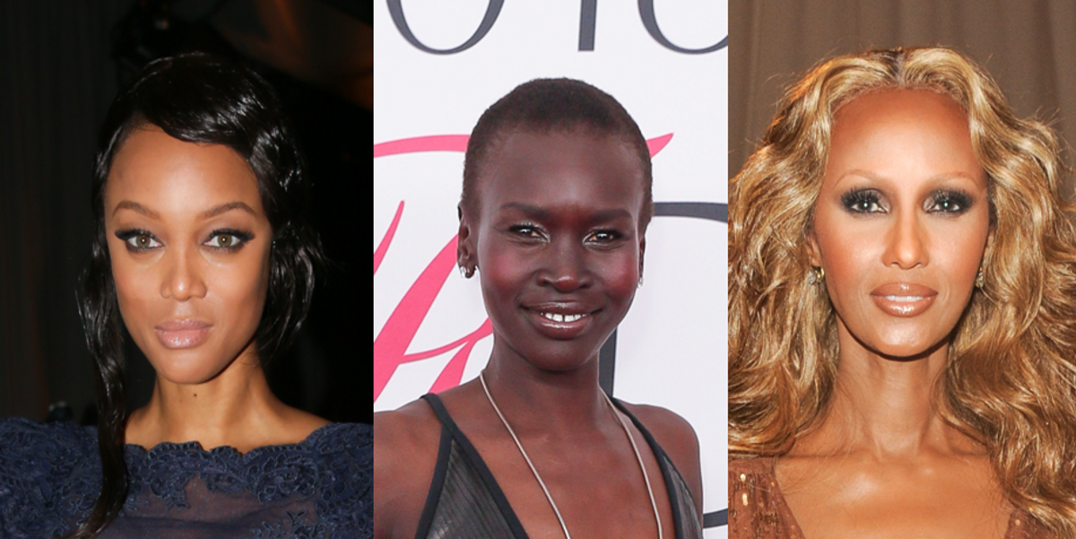 The 10 Most Fab Black Female Models of All Time
