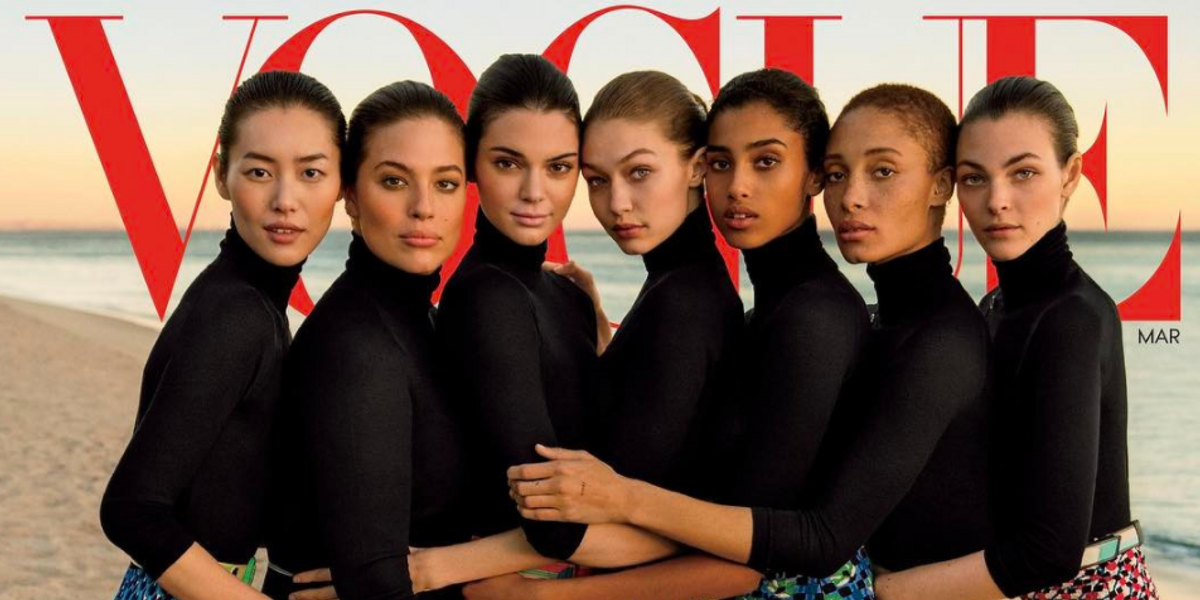 Vogue is Under Fire Again for Photoshopping Ashley Graham and Gigi Hadid