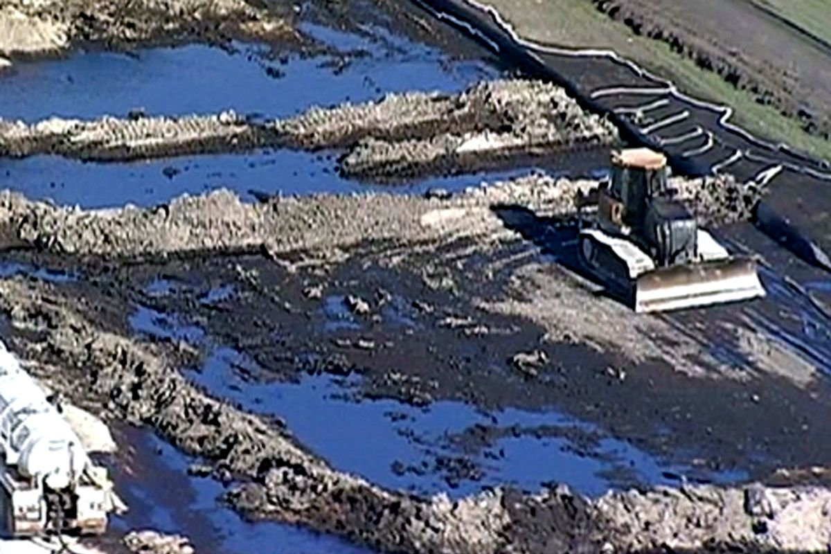 Texas Pipeline Spills 600,000 Gallons of Oil One Week Before