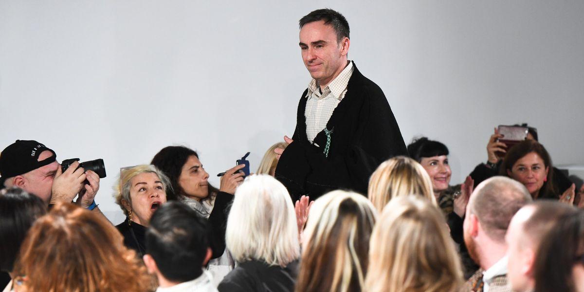 Raf Simons Goes All American in His Calvin Klein Debut