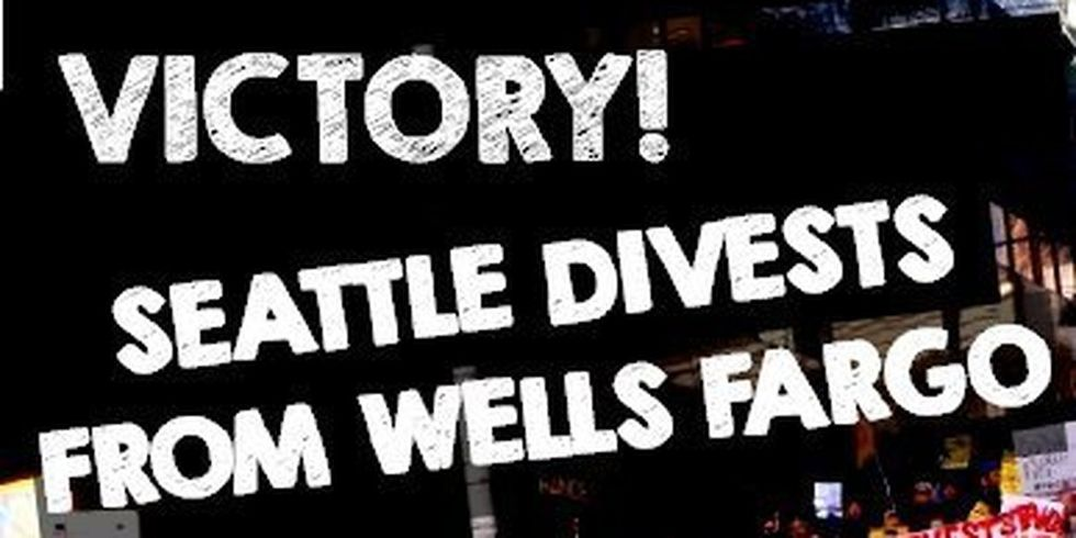 Seattle Becomes First City to Cut Ties With Wells Fargo Over DAPL, Just Hours After Army Corps Grants Final Permit